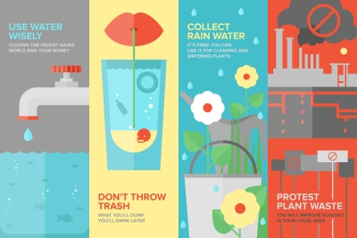 Water Saving Infographics by Payless Hardware and Rockery