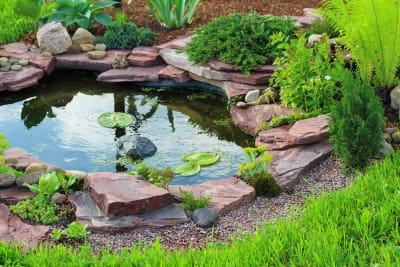 Use of Natural Stones for Decoration