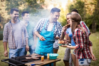Steps for Backyard Summer Parties